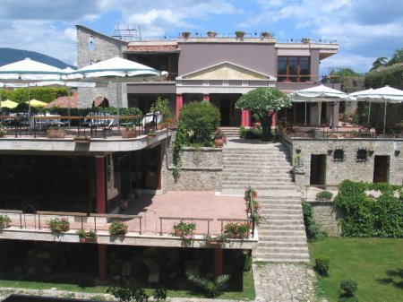 hotel real scampis elbasan view