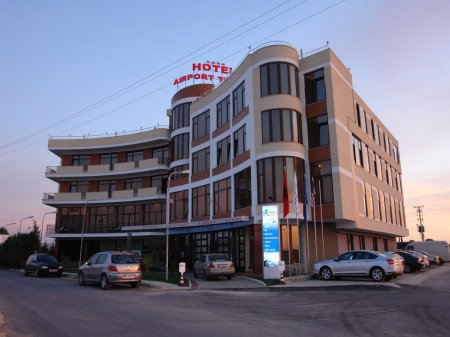 hotel airport tirana front view