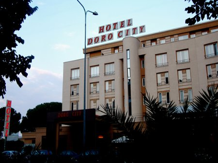 hotel doro city tirana front view
