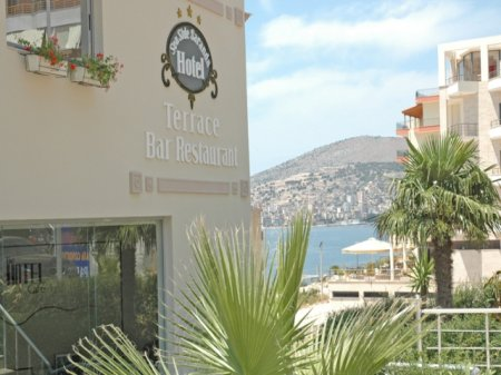 hotel seaside saranda front view