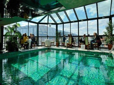 hotel arka skopje macedonia pool bar