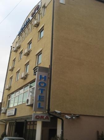 hotel ora pristina kosovo front view