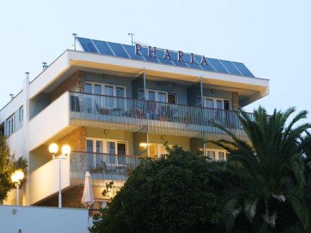 hotel pharia hvar croatia front view