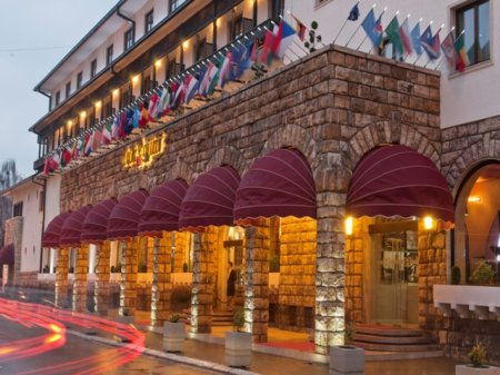 hotel dukagjin pec kosovo front view