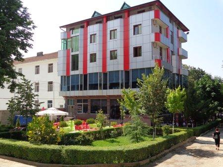hotel piazza peshkopi front view