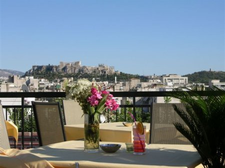 hotel apollo outside bar athens greece