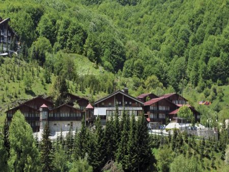 hotel bistra front view mavrovo macedonia