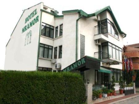 hotel mramor skopje macedonia front view