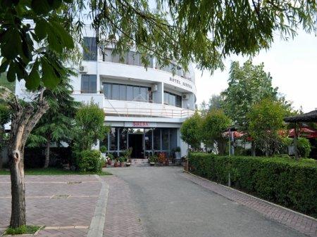 hotel sirena tushemisht pogradec front view