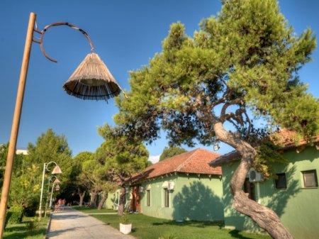 Hotel 80 Tropikal Durres villa - Garten Durres